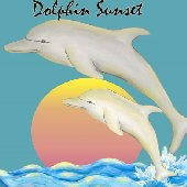 Sunset Dolphin Create A Wall Mural