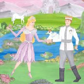 Swan Lake Princess Create A Wall Mural
