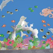 Under the Sea Adventure Create A Mural - Large Kit