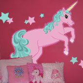Pastel Unicorn Create A Wall Mural