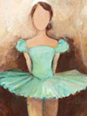 Canvas Belle of the Ballet Wall Art