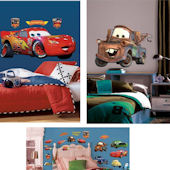 McQueen and Mater Decal Room Package