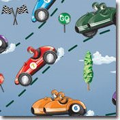 Car Racing Wall Stickers