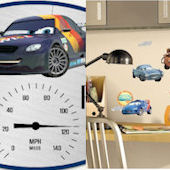 Disney Cars Custom Decal Room Package