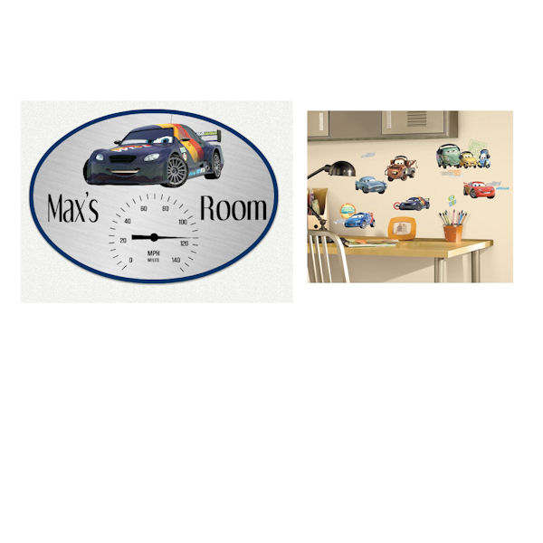 Disney Cars Custom Decal Room Package - Wall Sticker Outlet