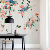 Minted Cascade Repositionable Wall Mural