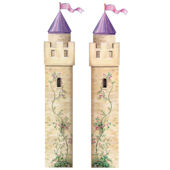 Castle Tower Peel and Stick Wall Mural