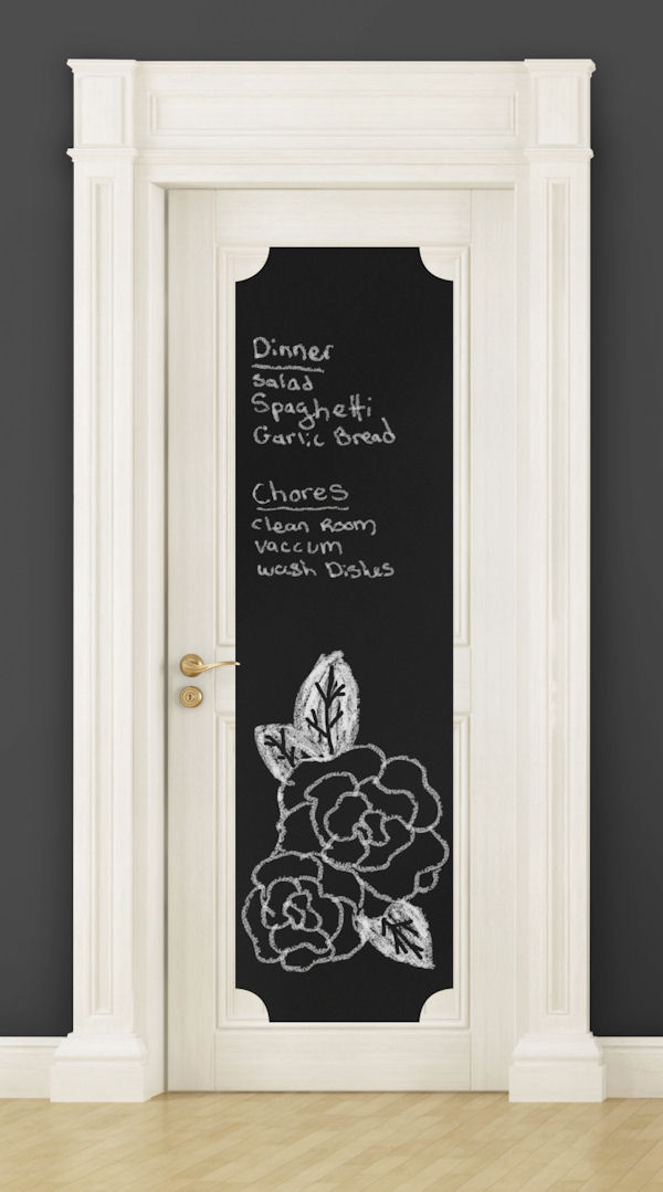 Chalkboard Deco Peel and Stick Wall Panel - Wall Sticker Outlet