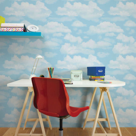 Graham and Brown Cloud 9 Wallpaper - Wall Sticker Outlet