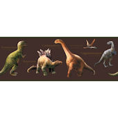 Candice Olson Brown Dino Border