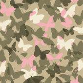 Candice Olson Pink and Green Camo Wallpaper