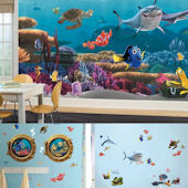 Complete Finding Nemo Decal Room Package