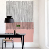 Minted Color Streak Repositionable Wall Mural
