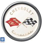 Corvette Logo C1 Peel and Stick SPECIAL SALE
