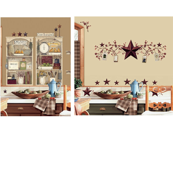 Country Theme Decal Room Package #9 - Wall Sticker Outlet
