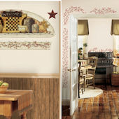 Country Theme Decal Room Package #4