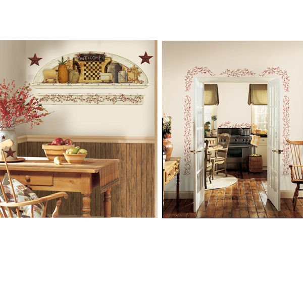 Country Theme Decal Room Package #4 - Wall Sticker Outlet