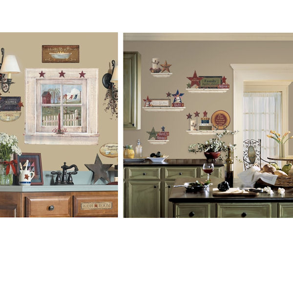Country Theme Decal Room Package #5 - Wall Sticker Outlet