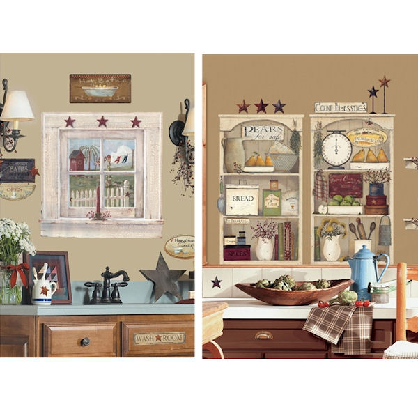 Country Theme Decal Room Package #6 - Wall Sticker Outlet