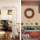 Country Theme Decal Room Package #10