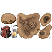 Fossil Peel and Stick Wall Stickers