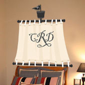 Pirate Sail Peel and Stick Personalized Mural