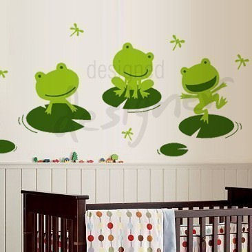 pics photos frog stack wall sticker outlet frog wall sticker wall art com
