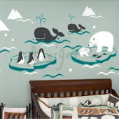 Wonderful Arctic Baby Wall Decal
