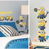 Despicable Me 2 Decal Room Package #1