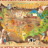 Americas Old West Wall Mural