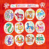 Chinese Zodiac Wall Canvas Art