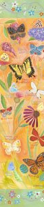 Exotic Butterflies Canvas Wall Art - Wall Sticker Outlet