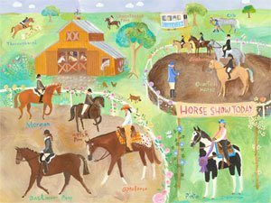 Horse Show - Kids Wall Decor Store