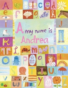 My Name Is GIRL Wall Canvas Art - Wall Sticker Outlet