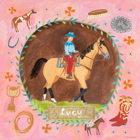Western Buckskin - Kids Wall Decor Store