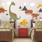Dinosaur Giant Wall Decals Color Scheme C