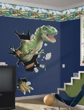 dinosaur bedroom. Dinosaur Theme Room Boys Bedroom  Dino Themed Wall Decals