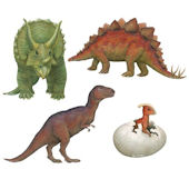 Dinosaur Pack Peel and Stick Wall Decal Collection