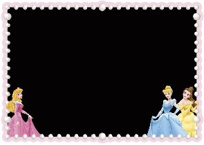 Disney Princess Chalkboard Decal