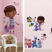 Doc McStuffins Decal Room Package