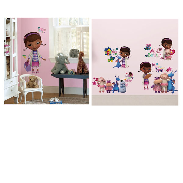 Doc McStuffins Decal Room Package - Wall Sticker Outlet
