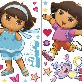 Dora the Explorer Big Appliques