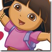 Girls wall decals stickers and wall mural sticker designs for Dora the explorer wall mural