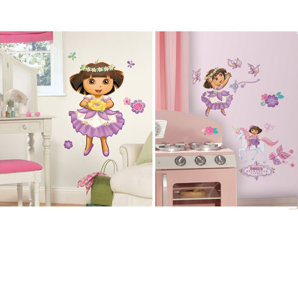 dora the explorer decal room package 3 wall sticker outlet