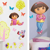 Dora the Explorer Decal Room Package #4