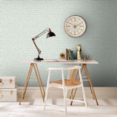 Graham and Brown Green Dots Wallpaper