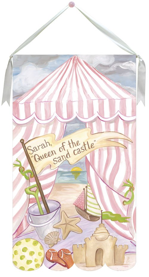 Cabana Queen Wall Hanging by Drooz Studio - Kids Wall Decor Store