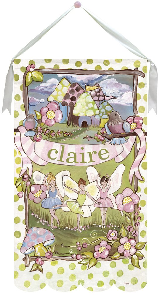 Little Fairies Wall Hanging by Drooz Studio - Kids Wall Decor Store