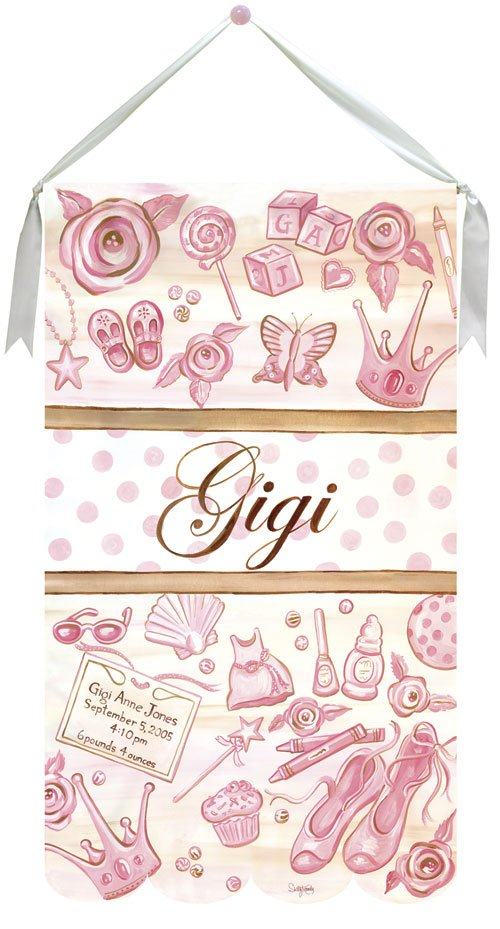 Its a Girl Wall Hanging by Drooz Studio - Kids Wall Decor Store