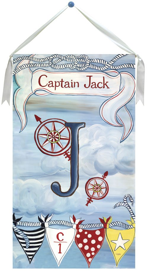 Little Captain Wall Hanging by Drooz Studio - Kids Wall Decor Store